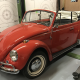 Cabrio in home workshop, getting ready